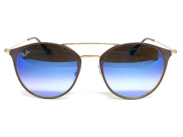 Oculos de sol Ray Ban Round RB 3546 9011 8B 52 - Óculos de Sol ... 6d3cfc5593