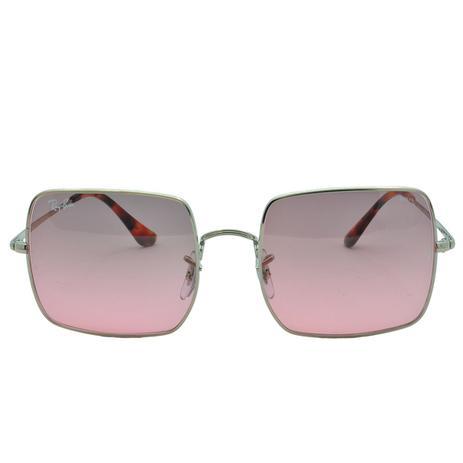034757dfeb Óculos de Sol Ray Ban Square Evolve Feminino RB1971 9151AA54 - Metal Rosé e Lente  Rosa