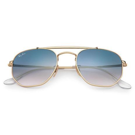 a2ffb5c1453e6 Óculos de Sol Ray Ban The Marshal RB3648 001 3F 54 - Óculos de Sol ...