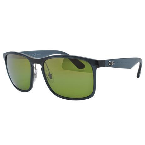 39bf24b185 Óculos de Sol Ray Ban Unissex Chromance Polarizado RB4264 876/6O - Acetato  Preto e Lente Espelhada A