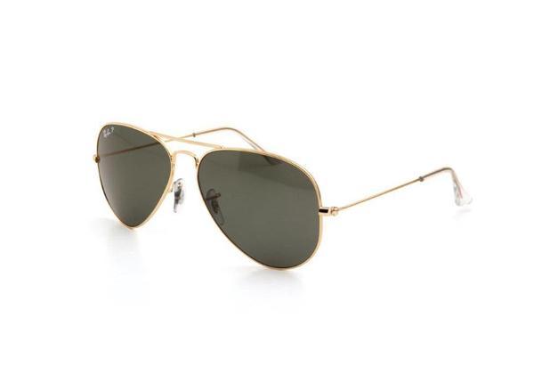 3c54b1720 Óculos de Sol Ray Ban Unissex Lente Policarbonato Dourado - Ray-ban ...