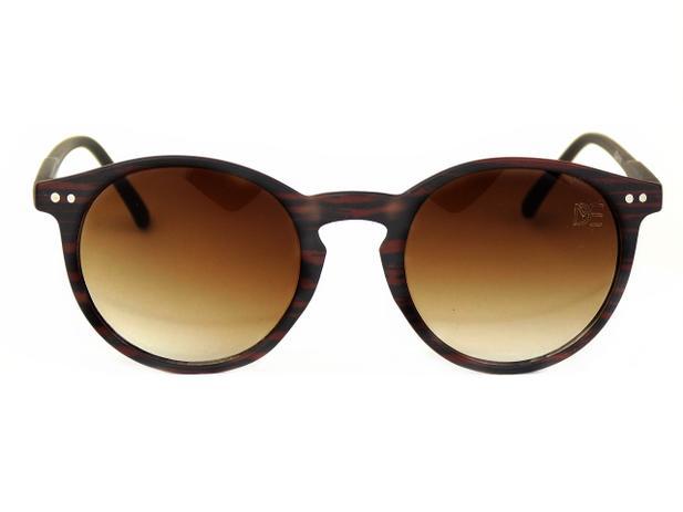 0bce6c800 Óculos de Sol Redondo Drop mE Ébano Marrom - Drop me acessorios ...
