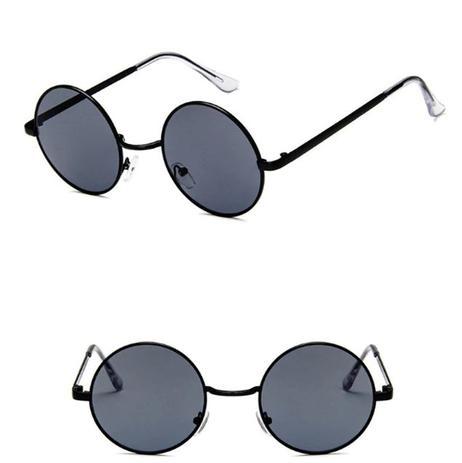 24bf8c39e Menor preço em Óculos de Sol Redondo Vintage com Proteção UV400 - Vinkin