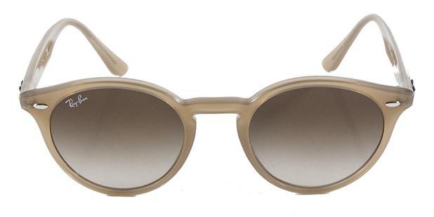 f985760bdf442 Óculos de Sol Round Stylish Ray Ban RB2180 Nude Translúcido Lentes 51 - Ray- ban