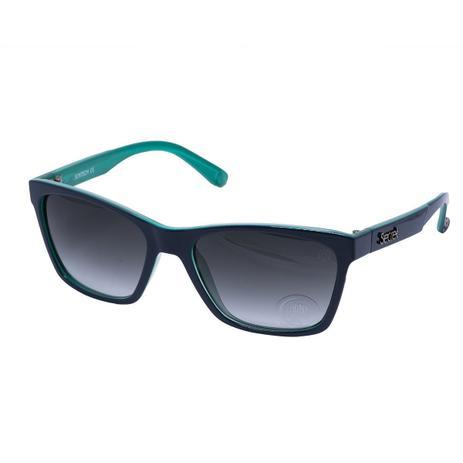 98d671ff919e1 Óculos de Sol Secret Sophia Feminino 80036679 - Acetato Verde e Lente  Degradê Cinza