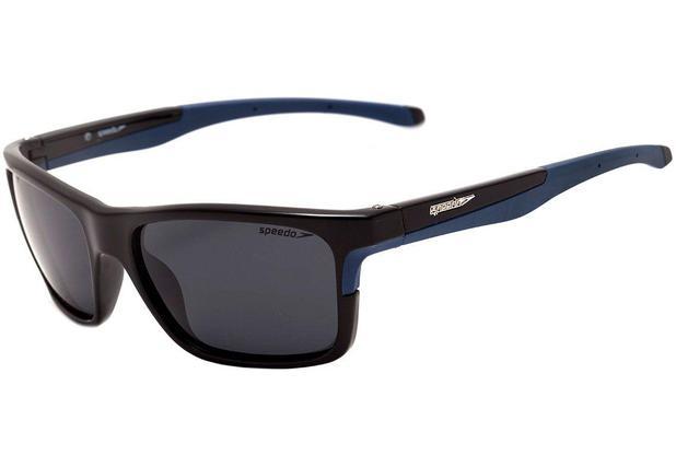 cc00c1a0a5308 Óculos de sol Speedo Polarizado Rowing Preto Verde Fosco - Óculos de ...
