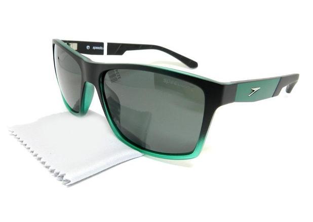 a67418ccfe580 Óculos de Sol Speedo Scuba C01 Preto Verde - Óculos de Sol ...