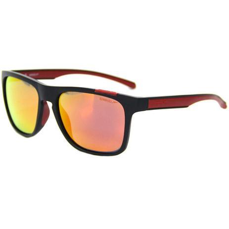 9159ce6f48c40 Óculos de Sol Speedo Surf A03 Preto Fosco Lente Vermelha - Óculos de ...