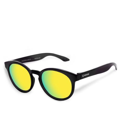 Imagem de Óculos de Sol Suncode Iconic Onyx Daybreak Amarelo
