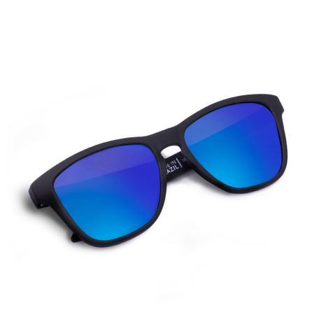 Imagem de Oculos de Sol Suncode Natural Carbon Ocean Azul