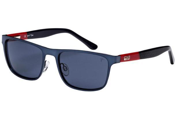 Óculos de Sol Tigor T Tigre STT086 C04 51 Azul Vermelho Preto ... 960e82b8a0