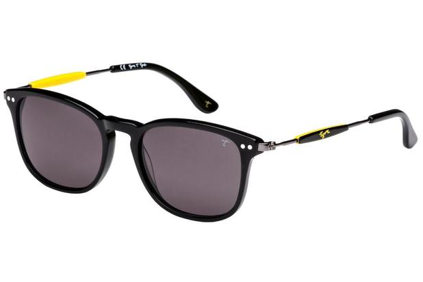 c3afaec6e7ede Óculos de Sol Tigor T Tigre STT087 C01 49 Preto Amarelo - Óculos de ...