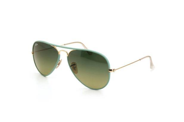 3d7ac52ee4f5e Óculos de Sol Unissex Ray Ban Policarbonato Degradê Verde - Ray-ban ...