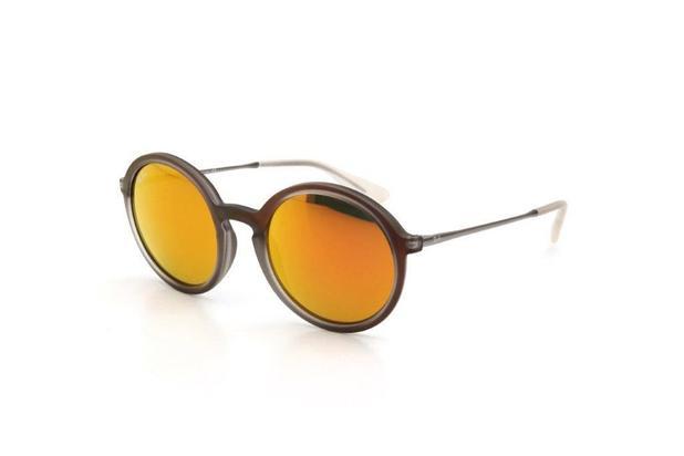 636c258e107f9 Óculos de Sol Unissex Ray Ban Proteção UV Espelhado Roxo - Ray-ban ...