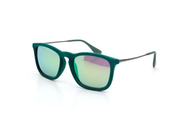 Óculos de Sol Unissex Ray Ban Veludo Espelhado Verde - Ray-ban ... b8d64b2029