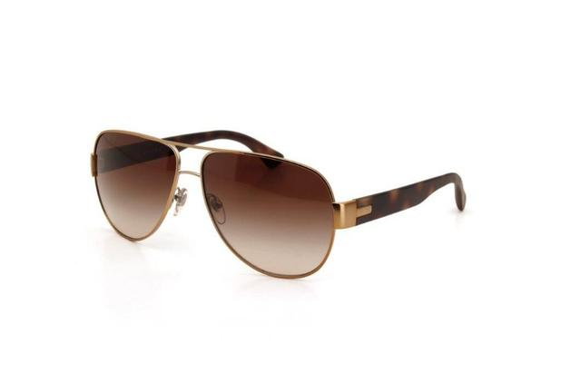 27a84295b Óculos de Sol Unissex Vogue Metal Proteção UV Dourado - Óculos de ...