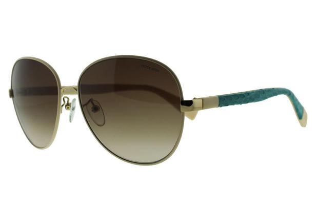 Óculos de Sol Victor Hugo SH1228 F47 58 Branco - Óculos de Sol ... 9ef6a8aa59