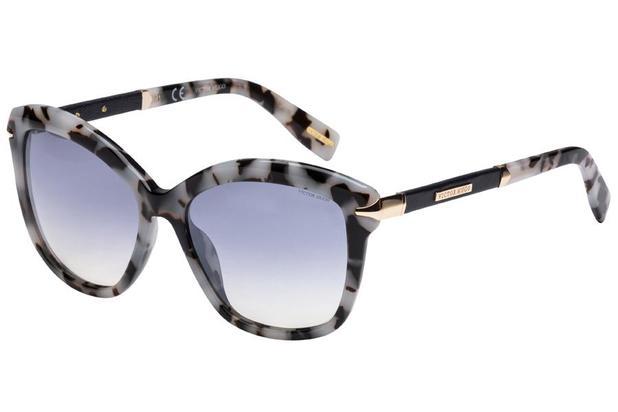 20e755ad4 Óculos de Sol Victor Hugo SH1740 0M65/54 Cinza Mesclado/Preto ...