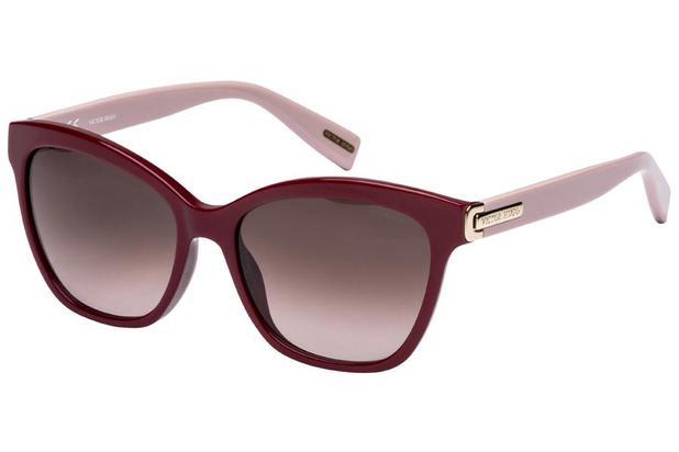 526f086fc Óculos de Sol Victor Hugo SH1741 0G96/55 Bordô/Rose - - - Magazine Luiza