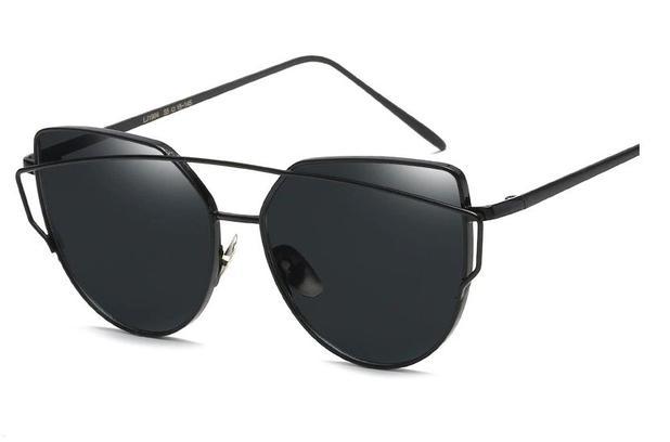 56a9475dc Óculos De Sol Vintage Olho De Gato com Proteção Uv400 - Vinkin ...