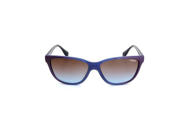 741344f53 Oculos de Sol Vogue Feminino Acetato Proteção UV Azul - Óculos de ...