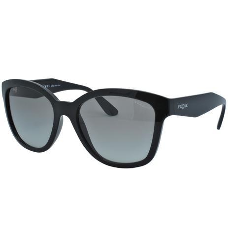 dbc2b5aed Óculos de Sol Vogue Feminino VO5019-SL - Acetato Preto - Óculos ...