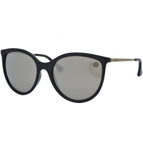 05b767a16 Menor preço em Óculos de Sol Vogue Feminino VO5221SL W44/5A - Acetato Preto  e