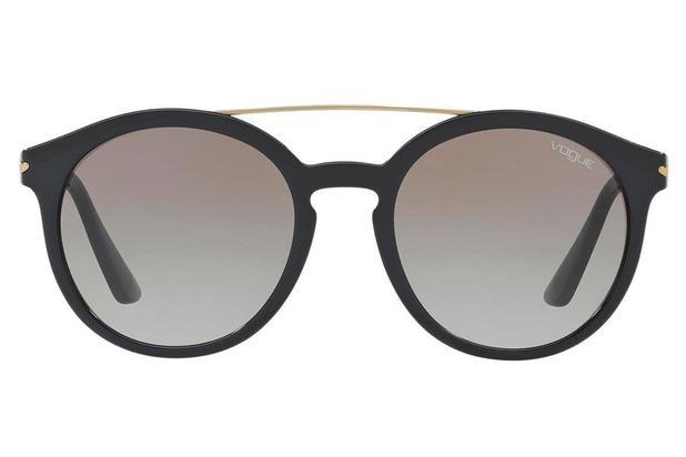 1daea90ac9add Óculos de Sol Vogue VO5133S W44 11 53 Preto - Óculos de sol feminino ...