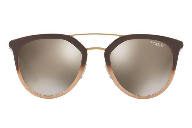 33052f5db7357 Óculos de Sol Vogue VO5164S 25605A 52 Marrom - Óculos de Sol ...