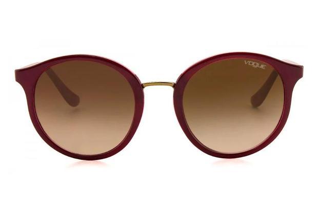 2fc3dc9d54d4c Óculos de Sol Vogue VO5166SL 256613 51 Vermelho Escuro - Óculos de ...