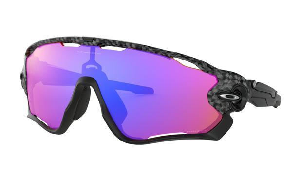 6bbaf5e3b4fdd Óculos de Trilha Oakley Jaw Breaker Carbon Fiber Prizm Trail ...