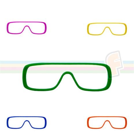 8af2e34bf Óculos Bicicleta Coloridos sem Lente 12 Unidades - Festabox | Menor ...
