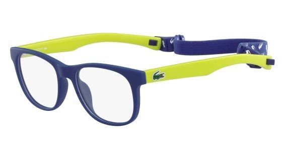 32885c31a Menor preço em Óculos Lacoste L3621 414 Azul Verde Florescente Lente Tam 47