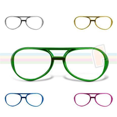 Óculos Metalizado RayBan sem Lente - Festabox - Óculos, Tiaras e ... c0df3544be