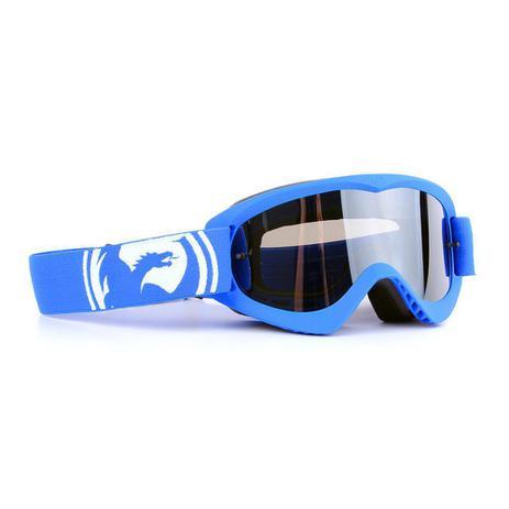 Óculos Motocross Dragon MDX Azul - Lente Cinza Espelhada ... 742bbac428
