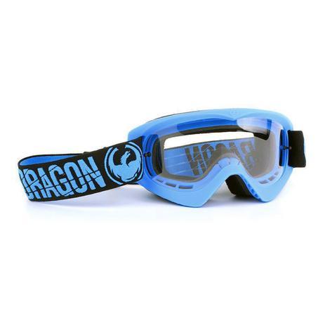 Óculos Motocross Dragon MDX Azul - Lente Transparente - Acessórios ... 98d8be09d5