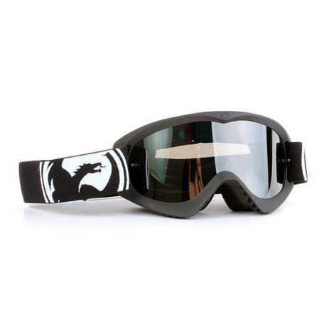 6bf8f563f3723 Óculos Motocross Dragon MDX Preto - Lente Cinza Espelhada ...