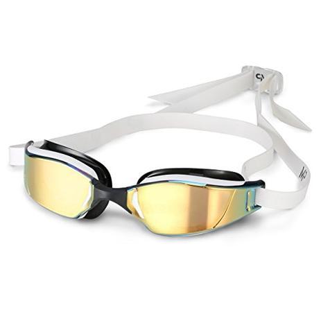 Óculos Natação Michael Phelps Xceed com Lente Titanium Gold Aqua Sphere 9ba4a47301