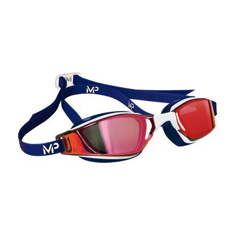 Óculos Natação Michael Phelps Xceed com Lente Titanium Vermelho Aqua Sphere ccf102a251