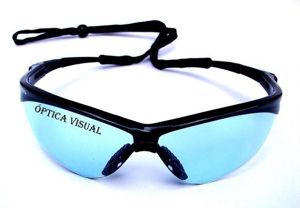 Óculos Nemesis Jackson Armação Preta Lente Azul Claro Uv - Ideal work 71ef071b3a
