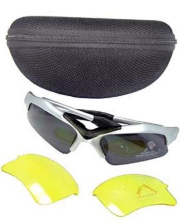 b9d1bf4e03dd3 Óculos Nylon 2 Lentes(Fume Amarelo) - Importado - Óculos de Ciclismo ...