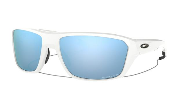 809152512 Óculos Oakley Split Shot White Prizm Deep H2O Polarizado ...