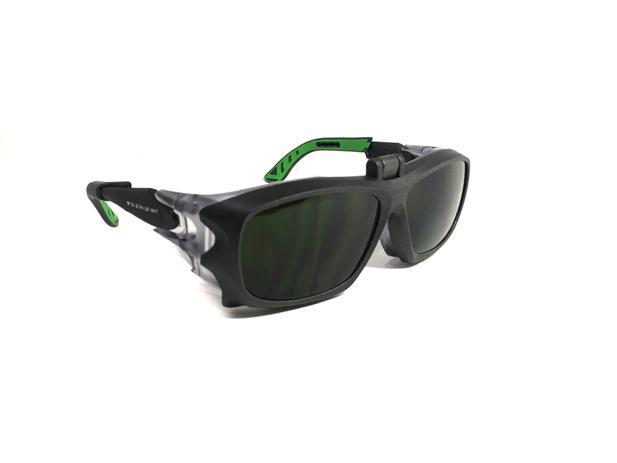 9480e15a6cc0d Oculos Proteção Compativel Com Grau + Clipon Ir E Soldador 5X9V - Univet