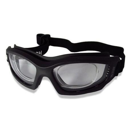 dba1aaa5e Óculos proteção esportivo com clipe interno p/ lentes de grau ideal para  ciclismo futebol voley paraquedismo paintball a - Danny