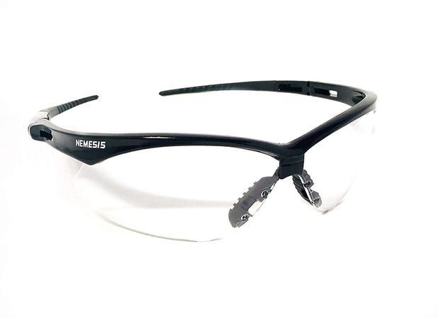 418464942455d Óculos Proteção Nemesis Preto Lentes Incolores Esportivo VOLEY Balístico  Resistente Impacto Ciclismo - Jacksons