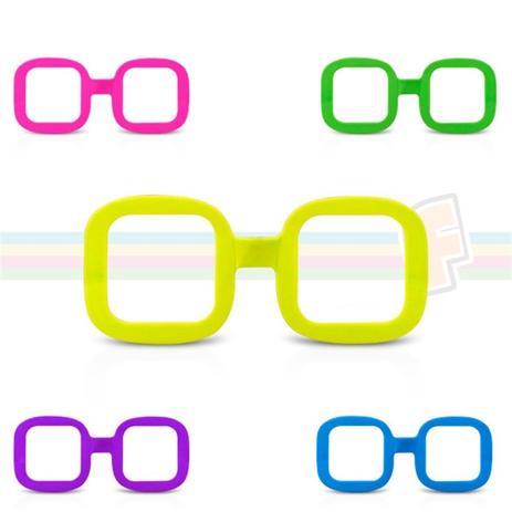Óculos Quadrado Colorido Sem Lente 10 unidades - Festabox - Óculos ... 01eb8b6ff5