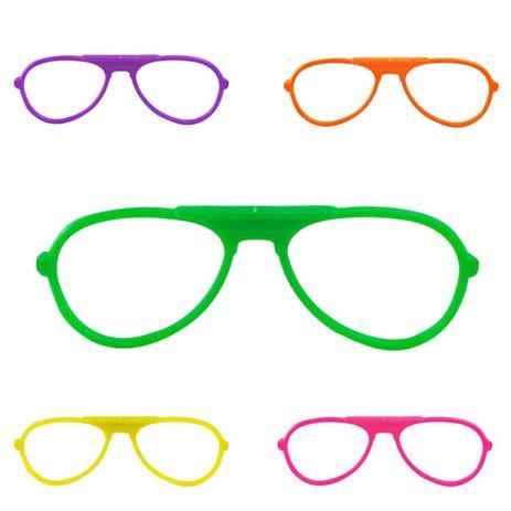 1620e3862 Óculos RayBan sem Lente 10 unidades - Festabox - Óculos de Festa ...