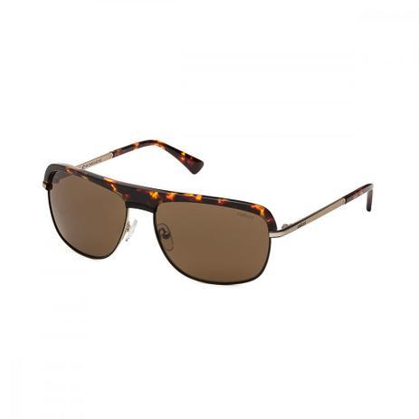 Oculos Sol Colcci C0002 Preto C Dourado L Marrom - Óculos de Sol ... 583517274a