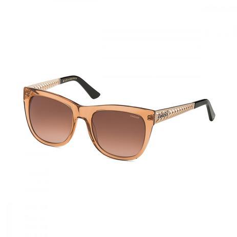 Oculos Sol Colcci C0009 Caramelo Transl C Dourado L Marrom Degr ... be095c95b1
