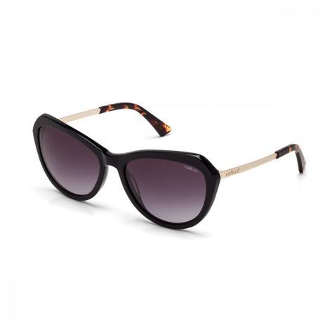 Oculos Sol Colcci C0012 Preto Brilho E Dourado Fosco L Cinza Degr ... 016c094b59
